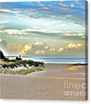 Indian River Inlet - Delaware State Parks Canvas Print by Kim Bemis