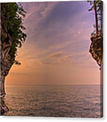 Inside Chapel Cove Canvas Print by At Lands End Photography