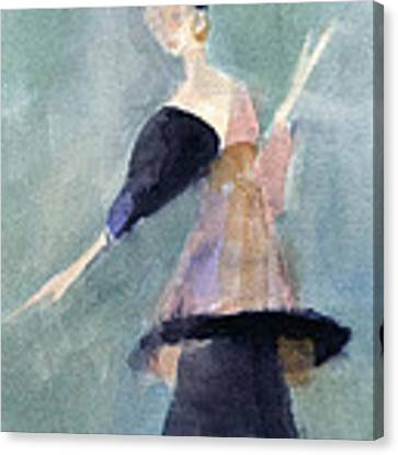 Inspired By Paul Poiret Fashion Illustration Art Print Canvas Print by Beverly Brown