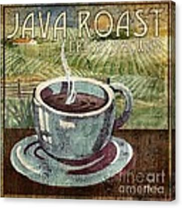 Java Roast Canvas Print by Paul Brent