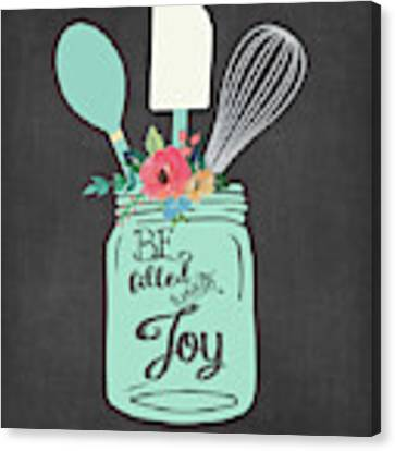 Joy Jar Canvas Print