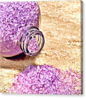 Lavender Bath Salts Canvas Print by Olivier Le Queinec
