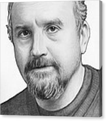 Louis Ck Portrait Canvas Print