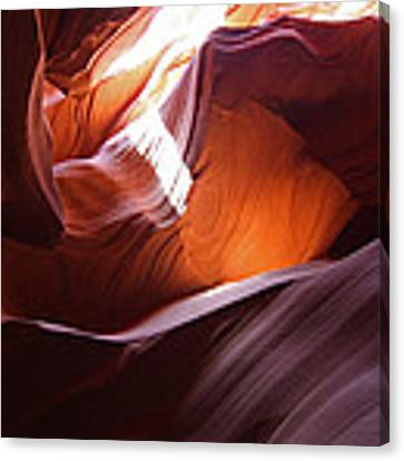 Lower Antelope Slot Canyon 14 Canvas Print by Jean Clark
