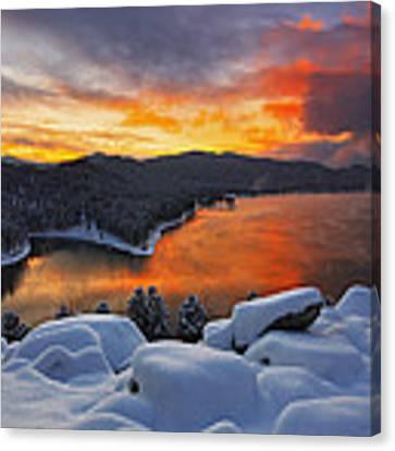Magic Sunset Canvas Print