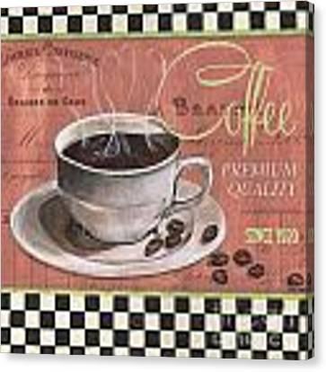 Marsala Coffee 1 Canvas Print