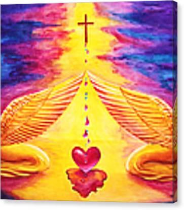 Mercy Canvas Print by Nancy Cupp