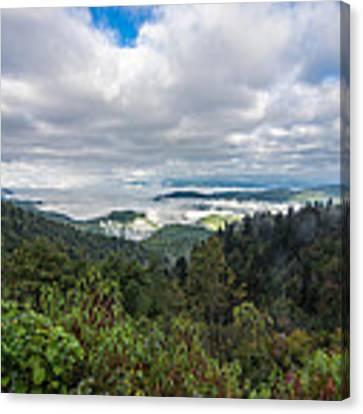 Mountain Fog Canvas Print by Francis Trudeau