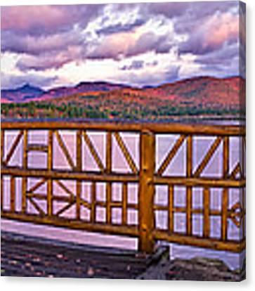 Mt Chocorua Autumn Panorama Canvas Print by Jeff Sinon