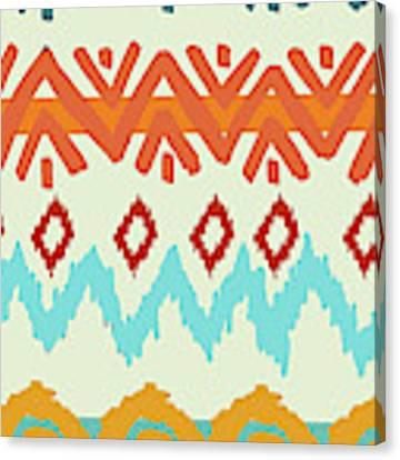 Navajo Missoni I Canvas Print