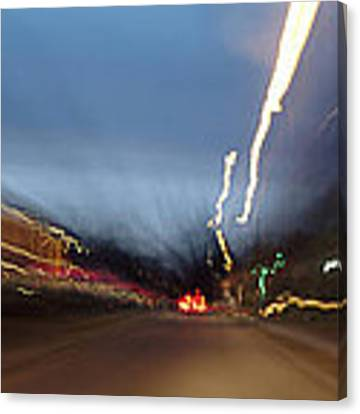 On The Road 2 Canvas Print by Wesley Elsberry