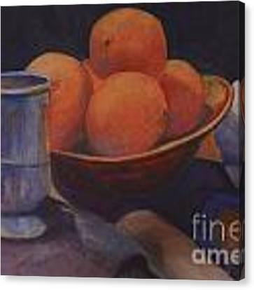 Oranges Canvas Print by Genevieve Brown