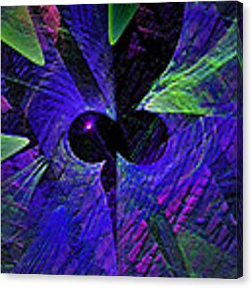 Plunge Into The Abyss Canvas Print by Dee Flouton