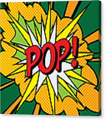 Pop Art 4 Canvas Print