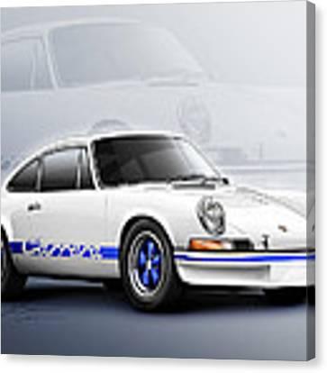 Porsche 911 Rs 1973 Canvas Print