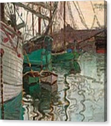 Port Of Trieste Canvas Print