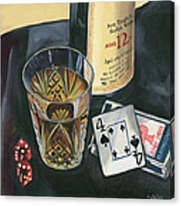 Scotch And Cigars 2 Canvas Print by Debbie DeWitt