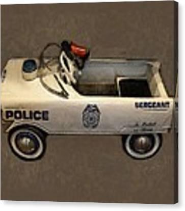 Sergeant Pedal Car Canvas Print