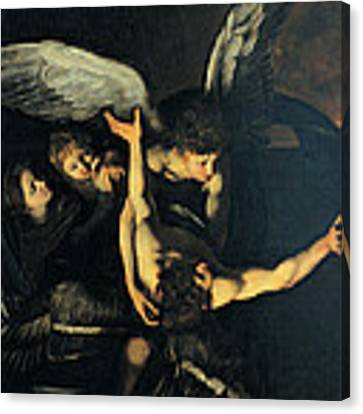 Seven Works Of Mercy Canvas Print