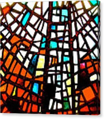 Skalholt Window Canvas Print by HweeYen Ong