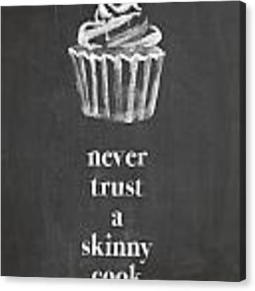 Skinny Cook Canvas Print by Nancy Ingersoll