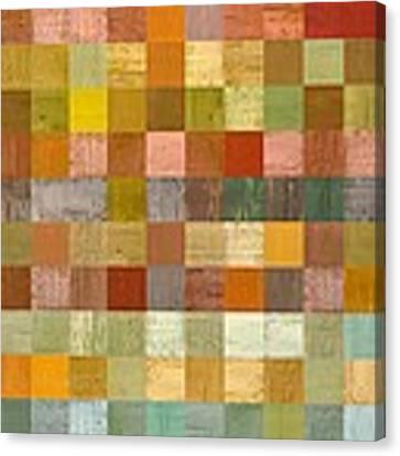 Soft Palette Rustic Wood Series Lll Canvas Print