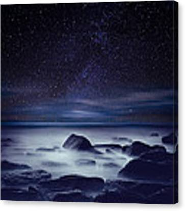 Starry Night Canvas Print by Jorge Maia