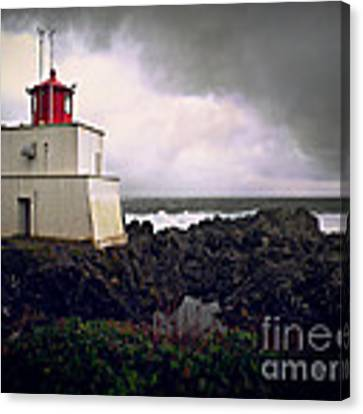 Storm Approaching Canvas Print by Micki Findlay