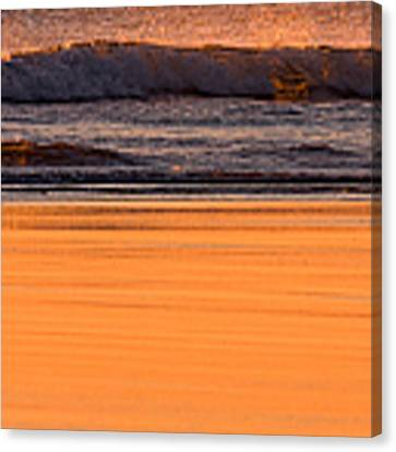 Sun Sand And Surf  Canvas Print by Jeff Sinon