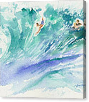 Surf's Up Canvas Print by Lynn Buettner