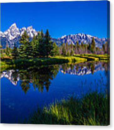 Teton Reflection Canvas Print