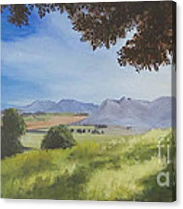 The Good Morning Tree Canvas Print by Dwayne Glapion