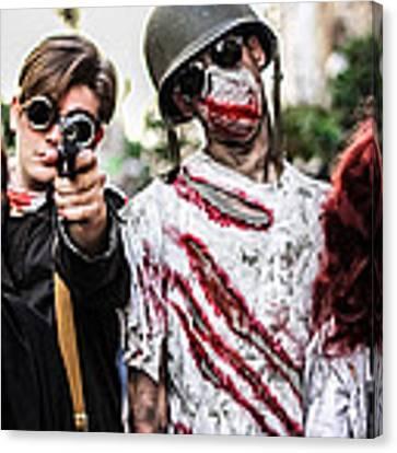 The Kill Team Canvas Print by Stwayne Keubrick