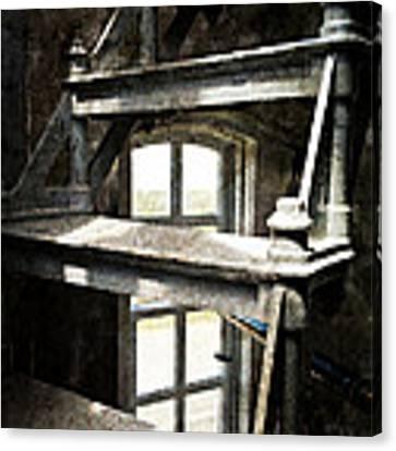 The Lighthouse Steps Canvas Print by Micki Findlay
