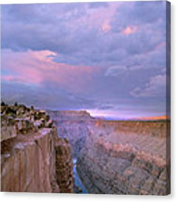 Toroweap Overlook Grand Canyon Nparizona Canvas Print by Tim Fitzharris