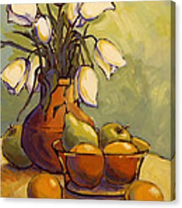 Tulips 1 Canvas Print by Konnie Kim