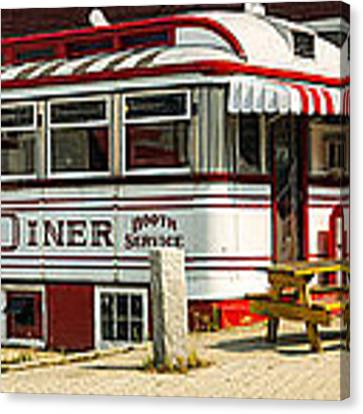 Tumble Inn Diner Claremont Nh Canvas Print
