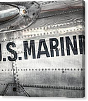 United States Marines - Beech C-45h Expeditor Canvas Print by Gary Heller