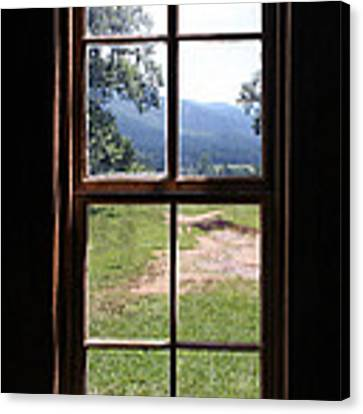 View From The Cabin Canvas Print by Todd Blanchard