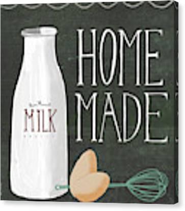Vintage Milk Canvas Print by Katie Doucette