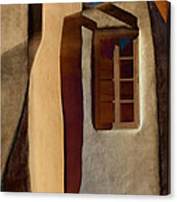 Window De Santa Fe Canvas Print