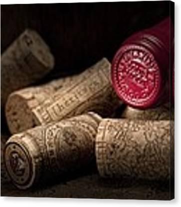 Wine Corks Still Life Iv Canvas Print