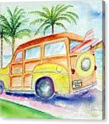 Woody Canvas Print by Lynn Buettner