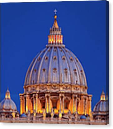 Dome San Pietro Canvas Print by Brian Jannsen