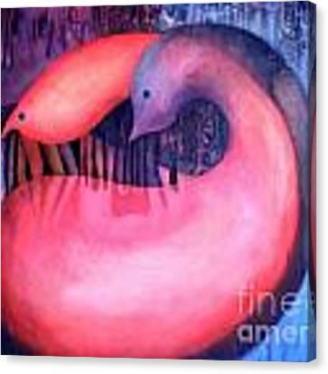 Yin Yang Canvas Print by Lynn Buettner