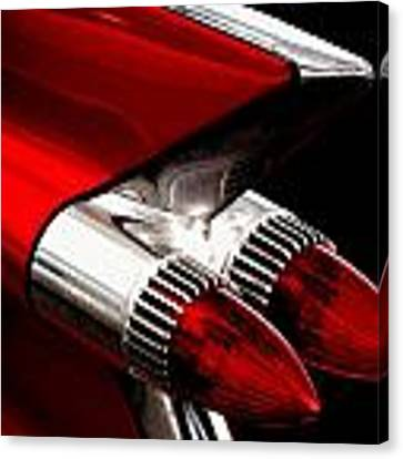 '59 Caddy Tailfin Canvas Print