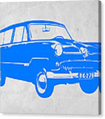 Funny Car Canvas Print by Naxart Studio