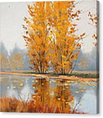 Golden Stillness  Canvas Print by Graham Gercken