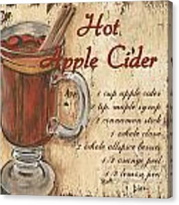 Hot Apple Cider Canvas Print