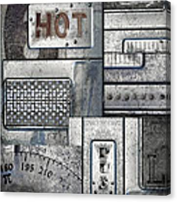 Hot Here Canvas Print